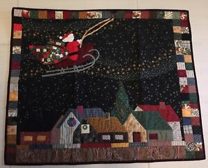 Christmas Quilt / Wall Hanging (reduced again)
