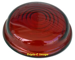 Lucas style L488 Red glass lens