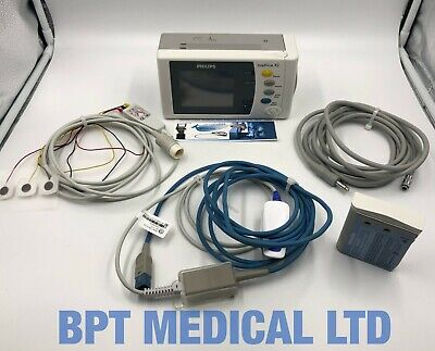 Philips Intellivue X2 Patient Monitor Touch Colour Module Fast Easi Cables