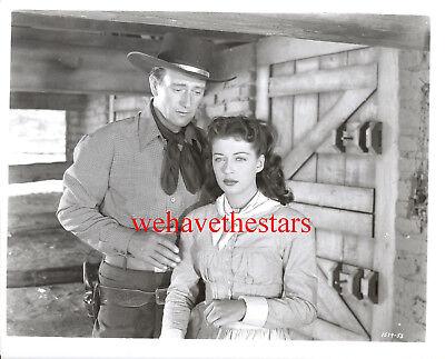 Vintage John Wayne Gail Russell ANGEL & THE BADMAN '40s Publicity Portrait  for sale  Stockton