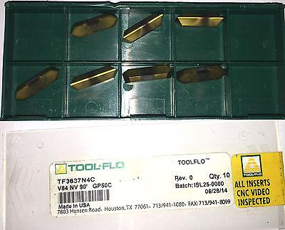 Tool Flo Carbide Inserts Quantity 7 V84 Nv 90 Gp50c