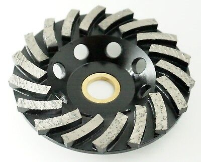 4in Diamond Cup Wheel - 18 Segmented For Fast Grinding Coarse 58-78