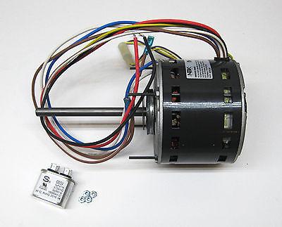 Furnace Air Handler Blower Motor 1/3 HP 1075 RPM 230 Volt 3 Speed for Fasco D923