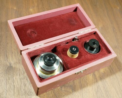 Vintage Wetzlar Polarizer or Polarizing Lens in Original Box