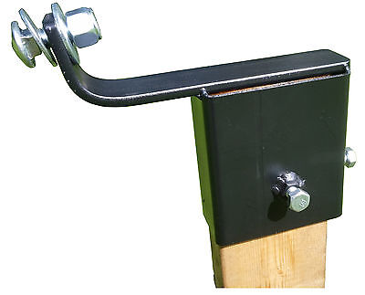 2 X 4 Steel Target Hanger, AR500 / A36 2x4 Angled mount