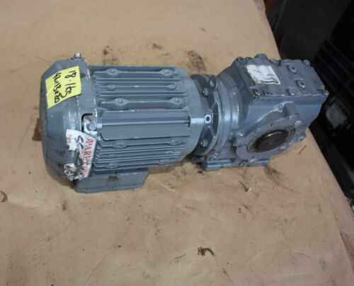 SEW Eurodrive SA47 DRS71M4B/TH electric motor gearbox 47.59:1 0.55kW 3 PHASE