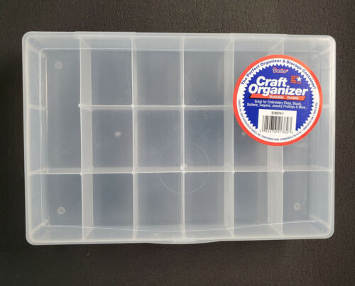 17 Bin Plastic Storage Box made by Darice