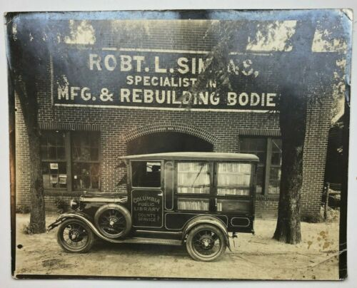 Circa 1925 - Columbia South Carolina Specialty Vehicle Rebuilder - Photo