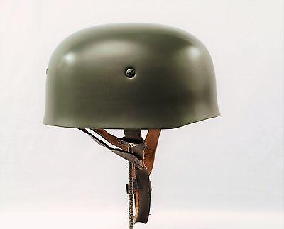 WW2 German Military Paratrooper Steel M38 Fallschirmjäger Helmet Reproduction