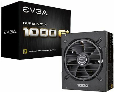 EVGA - 1000W ATX /EPS 80 Plus Gold Modular Power Supply - Bl