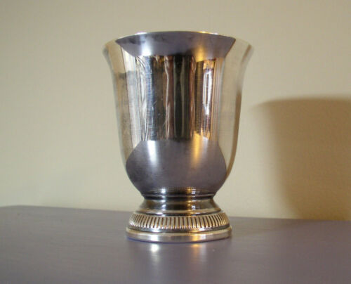 Christofle France Silver Plated Gallia Tulip Shape Child