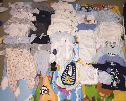 Baby Boy 000 - 60 pcs bulk buy