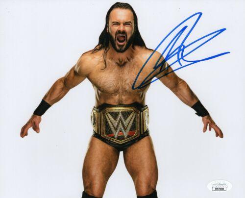 Drew McIntyre Autograph Signed 8x10 Photo - WWF WWE NXT (JSA COA)