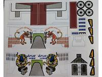 Star Wars Sticker for LEGO ® 7163 Gunship Precut Custom