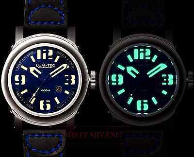 LUM-TEC ABYSS 600M-2 DIVER NEW + GIFT MENS WATCH LIMITED EDITION 150 PCS. DEALER