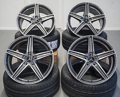 19 Zoll UA7 Felgen für Mercedes GLA GLC GLK 43 45 AMG C253 X253 X156 X204 W221