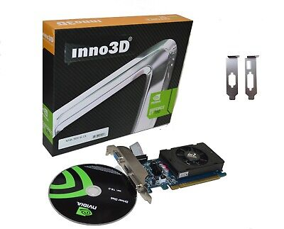 Inno3D Geforce 7 2GB DDR3 PCI Express x16 Video Graphics Card windows 8/7/10 Low