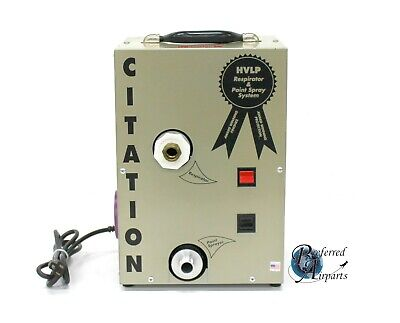 Used Citation Dual Hvlp Pump For Hvlp Spray System. Pump Only