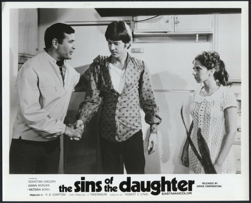 The Sins Of The Daughter '69 TONY VORNO SHAKING HANDS