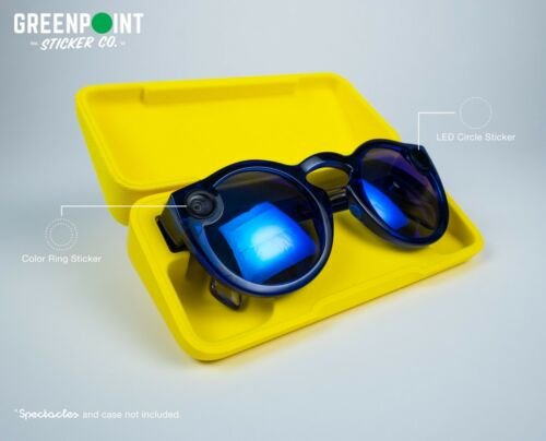 NEW! Blackout Kit for Snapchat Spectacles / LED + Color Rings (2-Pack)