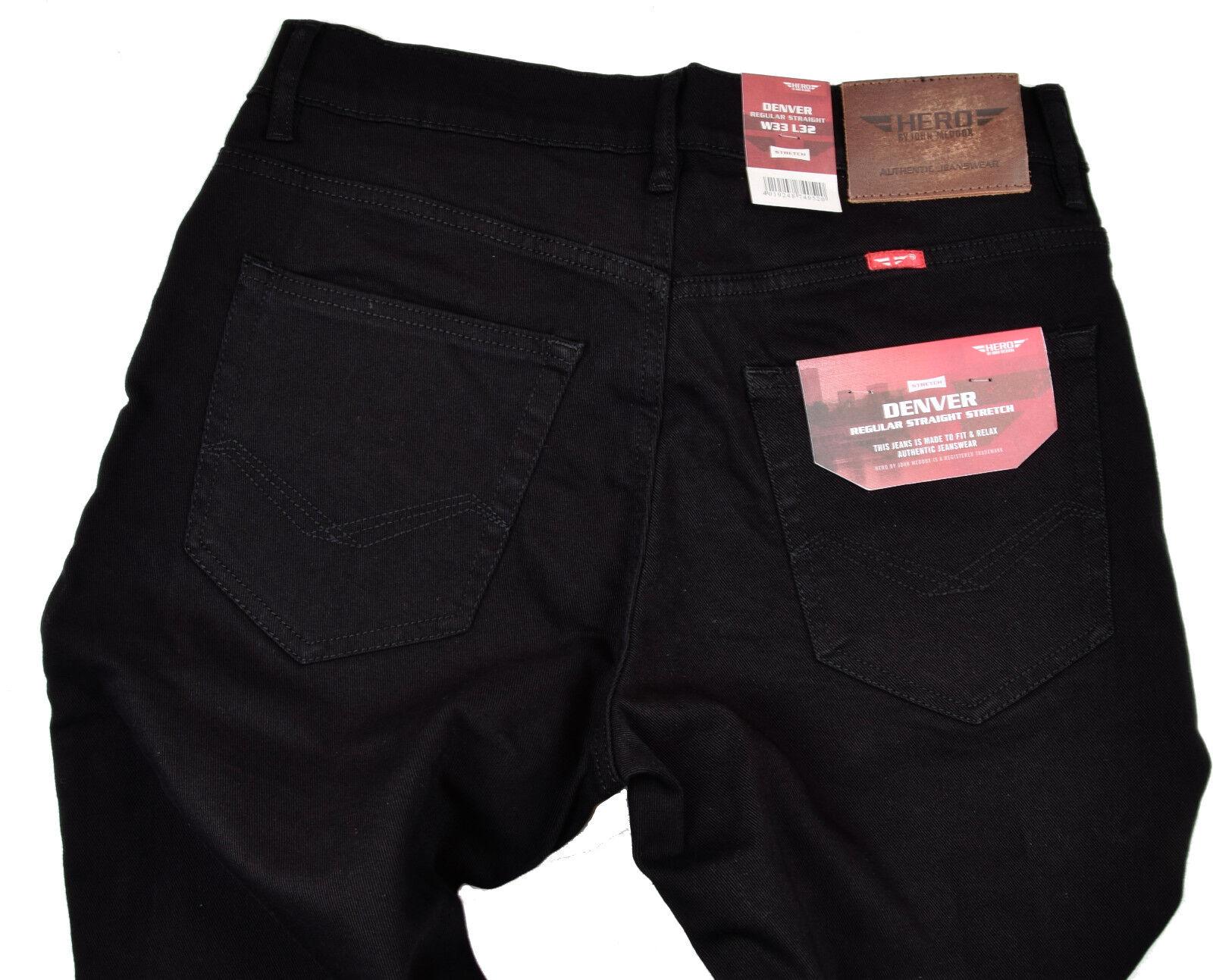 Men/'s Robelli Designer Dark Navy Blue Cotton Denim Skinny Slim Fit Jeans W30