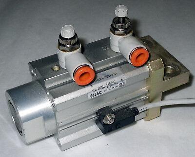 Smc Rsdqa32-15d-xc1 Max Press 145psi 1.00mpa Pneumatic Air Cylinder
