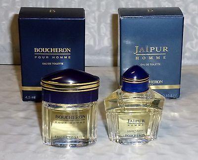 BOUCHERON  & JAIPUR FOR  MEN LOT OF