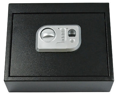 Black Biometric Fingerprint Drawer Personal Gun Safe Security for Handguns Money