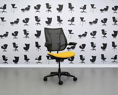 Refurbished Humanscale Liberty Task Chair - Solano Yellow YP110