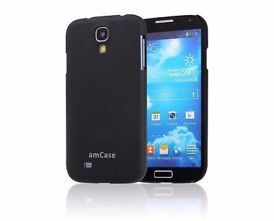 Samsung Galaxy S4 amCase Matte Slim Fit Phone Case/Cover (Black)