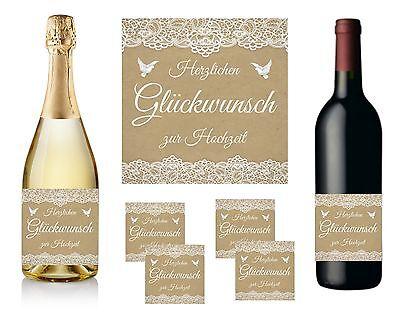 etikett - Herzlichen Glückwunsch zur Hochzeit - Design 2 (Herzlichen Glückwunsch Zur Hochzeit)