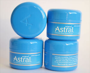 ASTRAL ORIGINAL FACE AND BODY MOISTURISER CREAM 50ml CREAM LOTION FREE FAST P&P