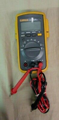 Fluke 112 True Rms Cat Iii 600v Digital Multimeter With Leads