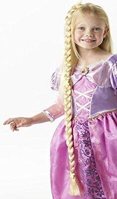 Rapunzel Barbie Zopf Mädchen Blond Goldsträhne Kinder Perücke Karneval zu Kostüm