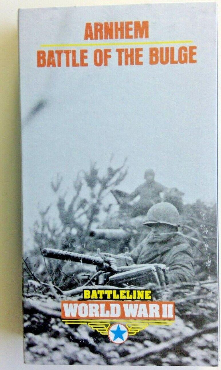 Time Life Battleline World War II VHS WW2 Footage Arnhem Battle Of The Bulge - $9.99