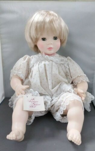 SUZANNE GIBSON Vintage 1977 Baby Doll with Curled Toes