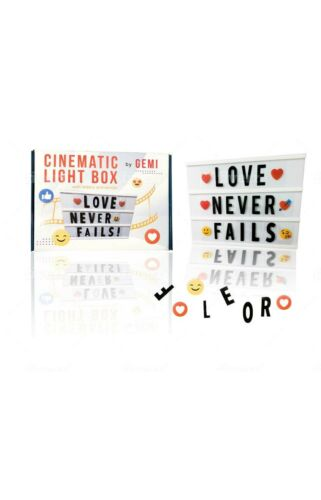 Cinema Light Box with letters  -  Cinematic Light Up Message