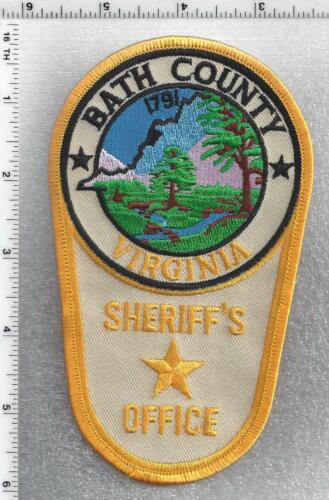 Bath County Sheriff (Virginia) 2nd Issue Shoulder Patch