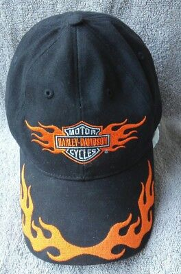 Top Hat Spade Skull Biker Motorcycle Bobber Cruiser Embroidered Baseball Cap