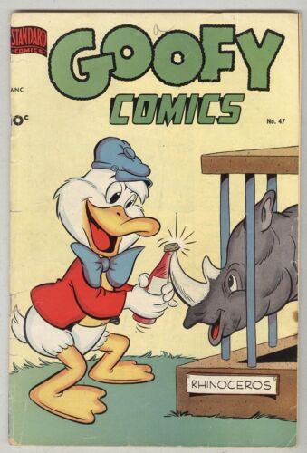 Goofy Comics #47 January 1952 VG-