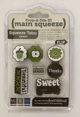 We R Memory Keepers Crop-A-Dile III Main Squeeze Tabs (Sweet) Collector