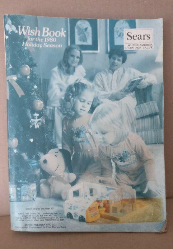 1980 Sears Holiday Season Wish Book Catalog Star Wars