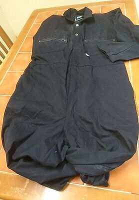 Ladies or Mens Zip Navy blue colour Boiler suit.