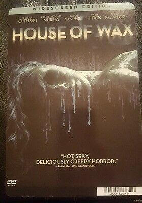 """HOUSE OF WAX: Blockbuster Movie Backer Mini Poster 8""""x5.5"""" (not movie or dvd)"""