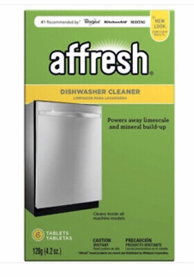 6 PACK Affresh Dishwasher Cleaner Penetrate Dissolve and Remove Odor