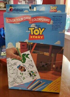 Vintage Toy Story 1 Playset Colorforms MiSB Disney 1995 Sealed