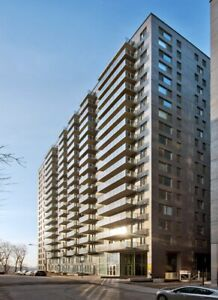 3 1/2 Downtown - Renovated - Luxury Building - Bright unit