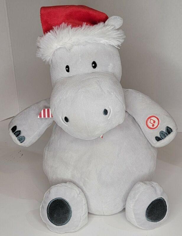 Hallmark Singing I Want a Hippopotamus for Christmas Plush w Sound