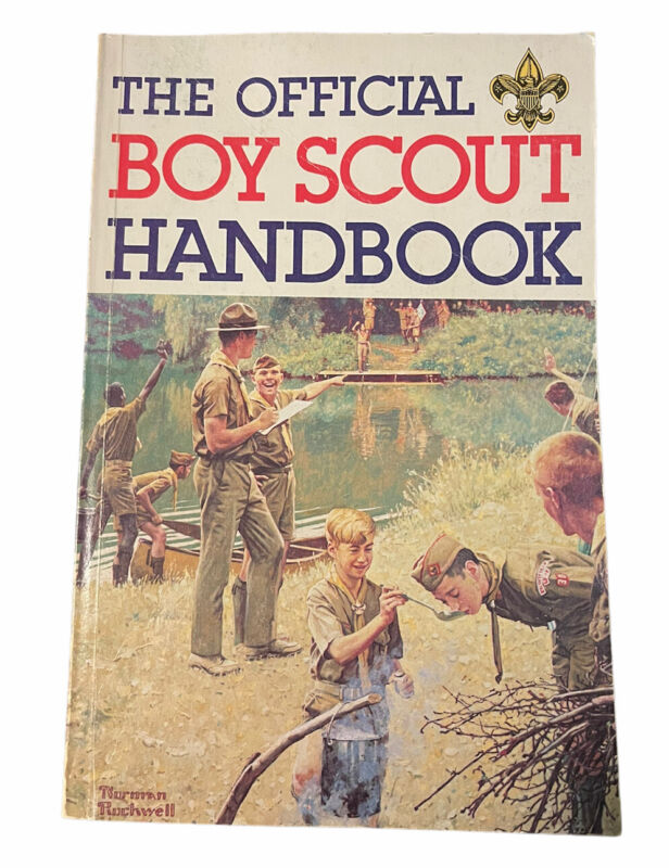 The Official Boy Scout Handbook Boys Scouts of America 1988 Bill Hillcourt