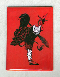 KRAMPUS-2-Fridge-Magnet-3-5-x-2-5-inches-NEW